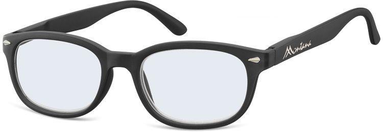 MONTANA EYEWEAR Dioptrické brýle na počítač BLF70 BLACK+3,50
