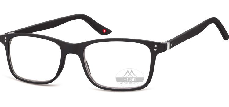 MONTANA EYEWEAR Dioptrické brýle Lihhtweight MR72 BLACK+2,50