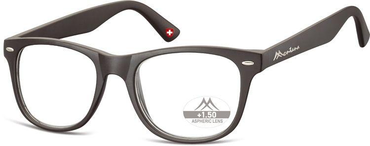 MONTANA EYEWEAR Dioptrické brýle MR67 BLACK+1,50