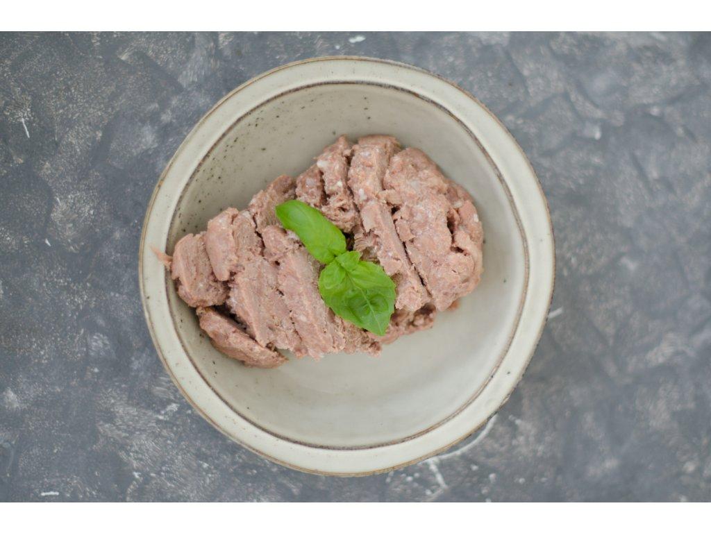 Morčacie mäso vo vlastnej šťave 420g