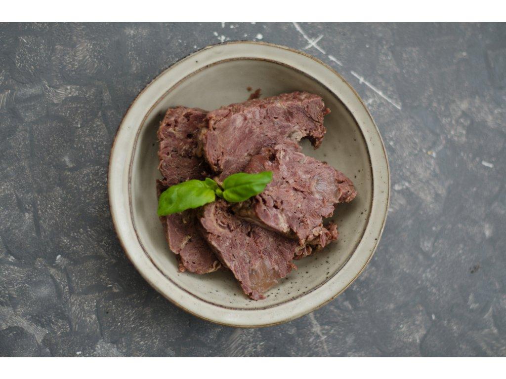 Hovädzie mäso vo vlastnej šťave 420g