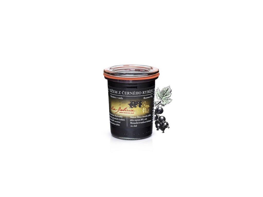 džem z čiernych ríbezlí