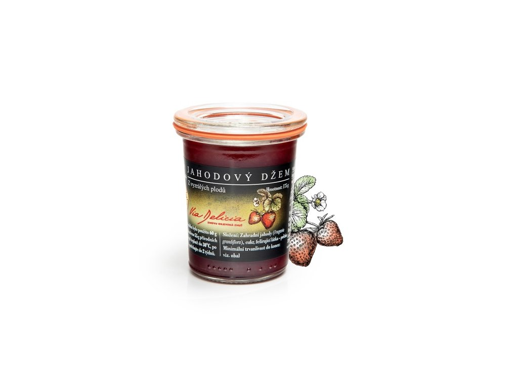 jahodový džem