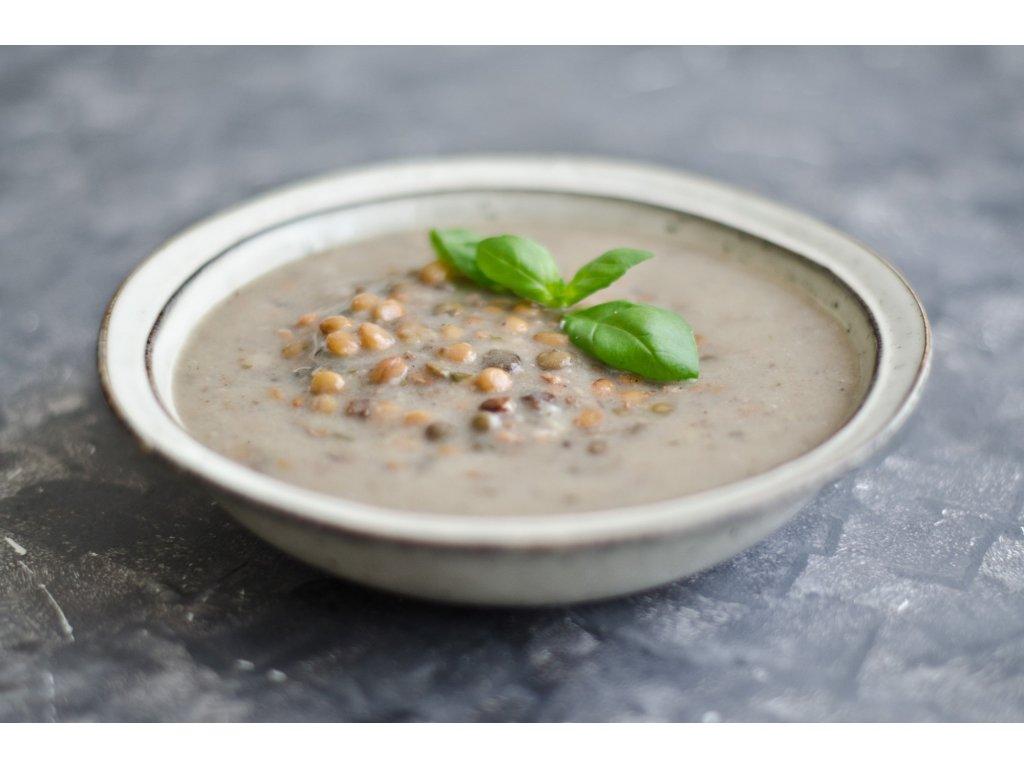 Šošovicová polievka desiatová