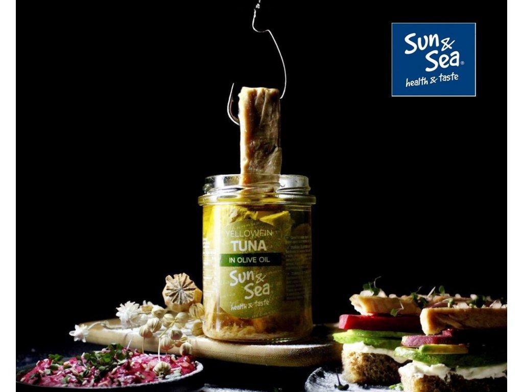 zltoplutvy tuniak v oliv oleji