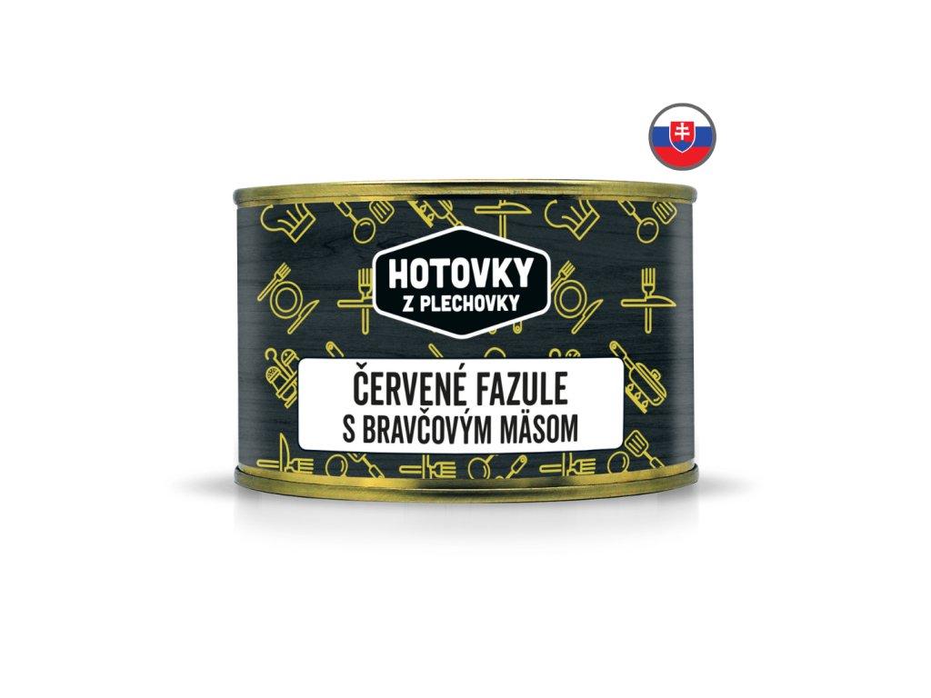 Červené fazule s bravčovým mäsom