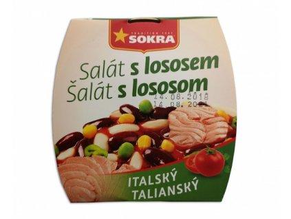 losos taliansky salat