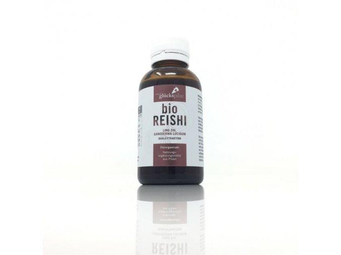 reishi ling zhi mushroom liquid extract organic ganoderma lucidum organic mushroom liquid extract 100ml bottle
