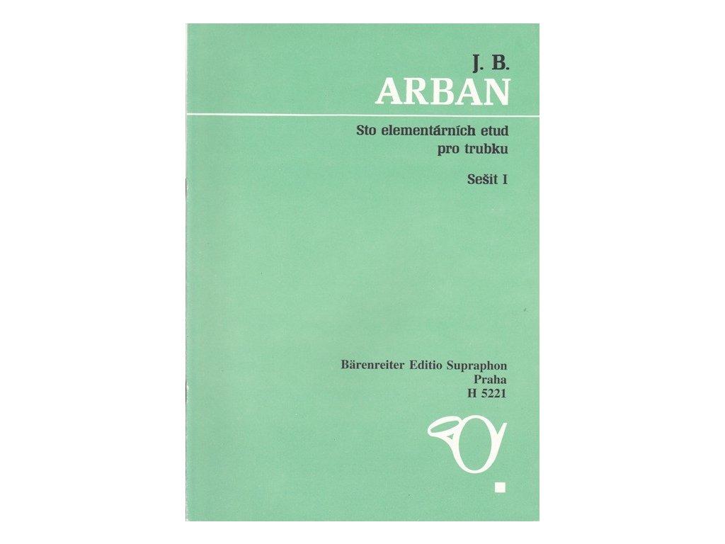 Arban - Sto elementárních etud pro trubku 1
