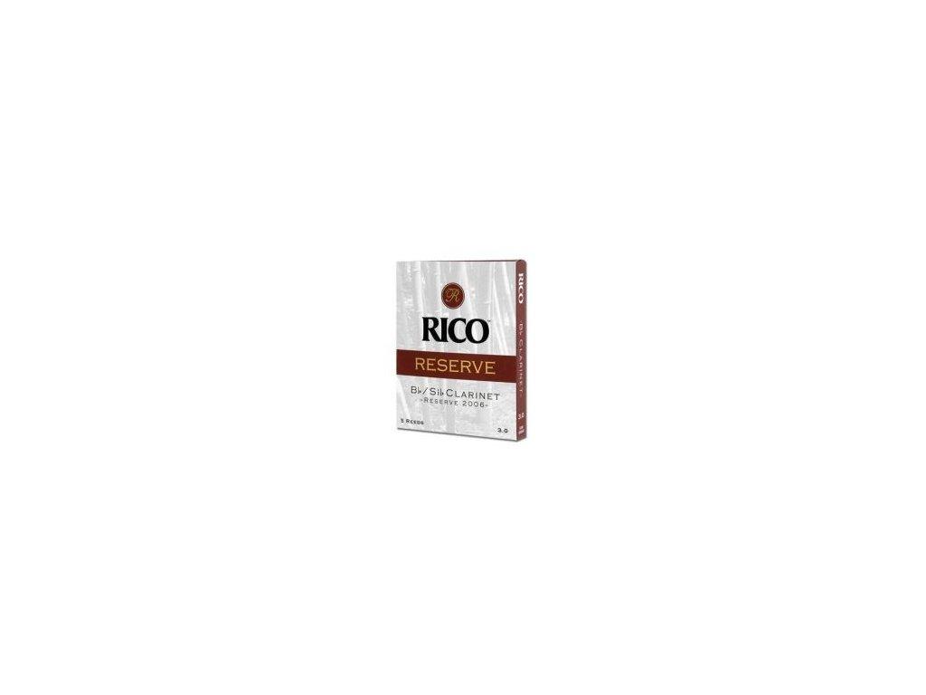 Plátek na B klarinet RICO RESERVE č.3 - RCR1030
