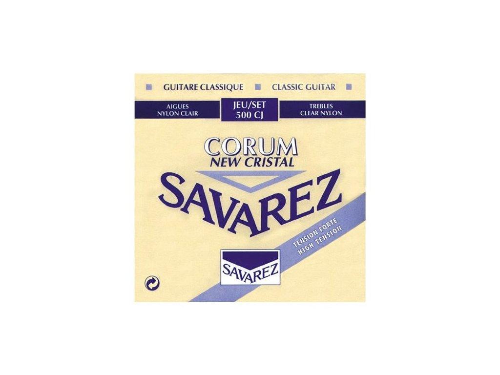 Nylonové struny Savarez Corum New Cristal 500 CJ