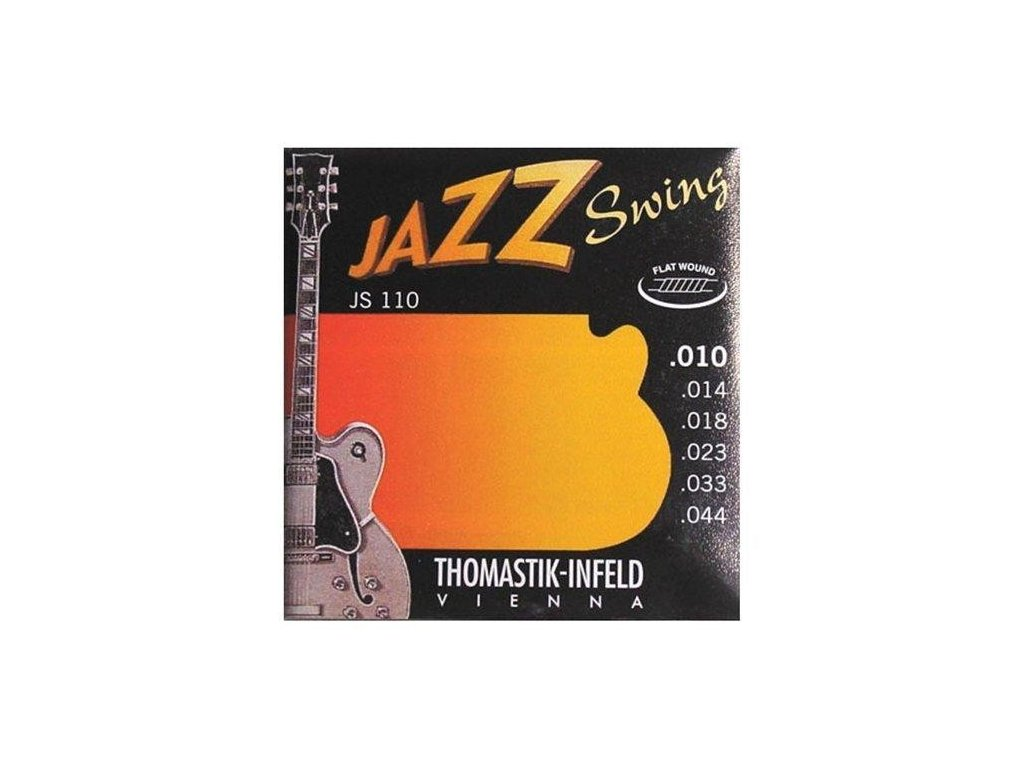 Struny na elektrickou kytaru Thomastik Jazz Swing JS110