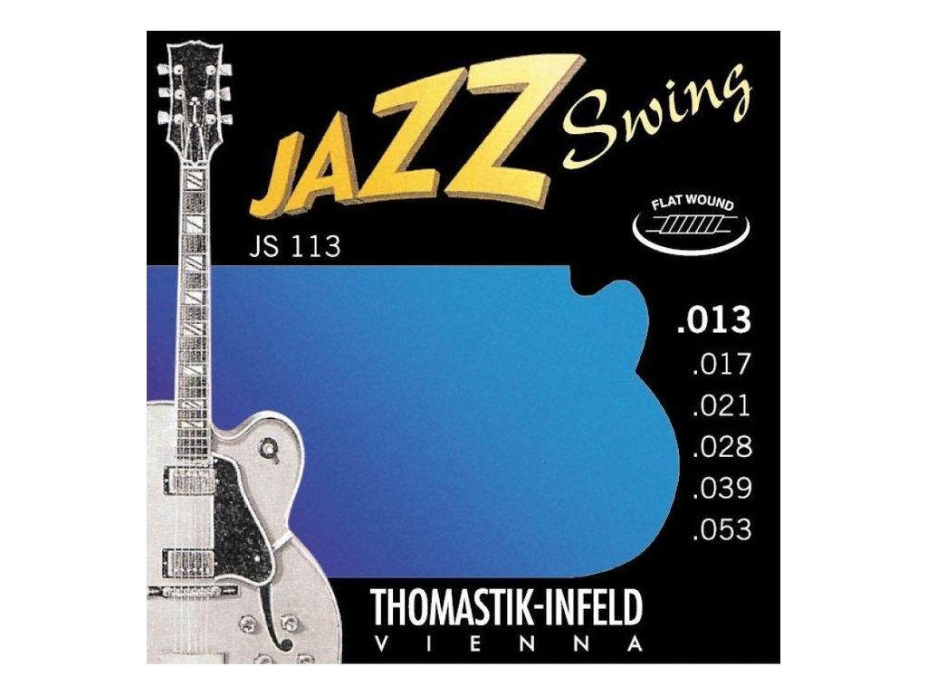 Struny na elektrickou kytaru Thomastik Jazz Swing JS113