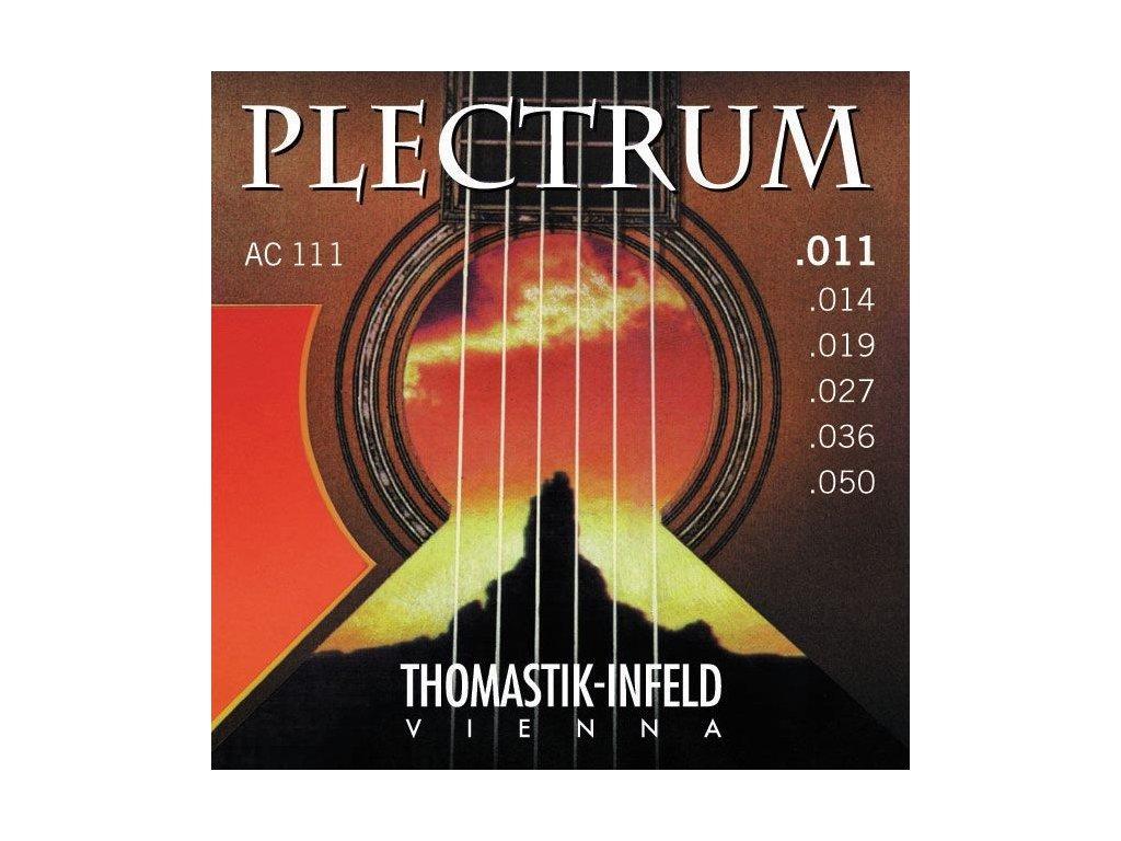 Struny na akustickou kytaru Thomastik Plectrum AC110