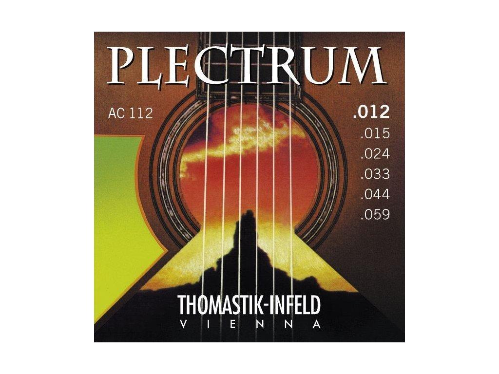 Struny na akustickou kytaru Thomastik Plectrum AC112