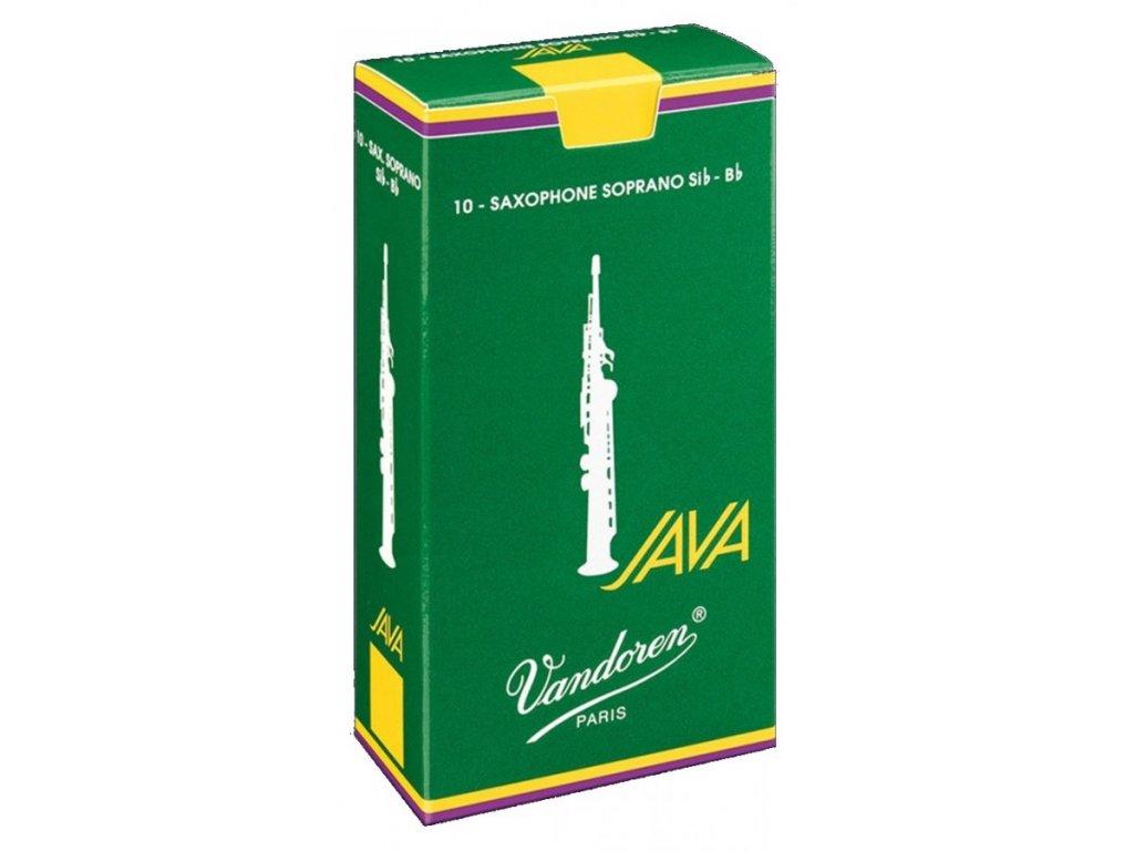 Plátek na sopránový saxofon VANDOREN JAVA č.2 - SR302