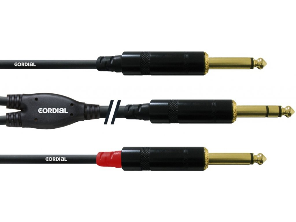 Propojovací Y kabel Cordial CFY6VPP