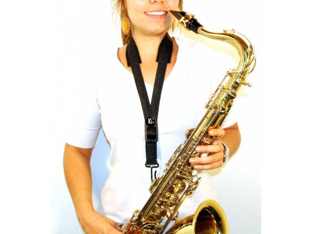 Popruh na tenor/baritonový saxofon BG S13M