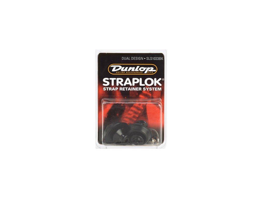 Zámky na popruh DUNLOP Straplok SLS 1033BK - Black