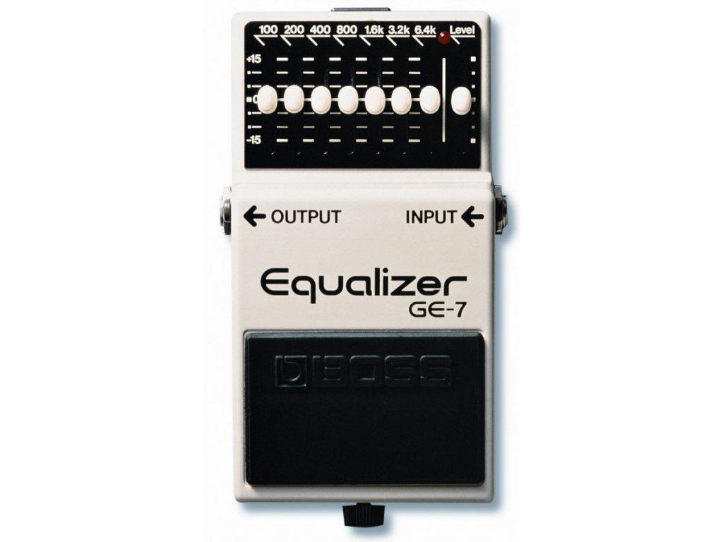 Kytarový efekt Boss GE - 7 - Equalizer