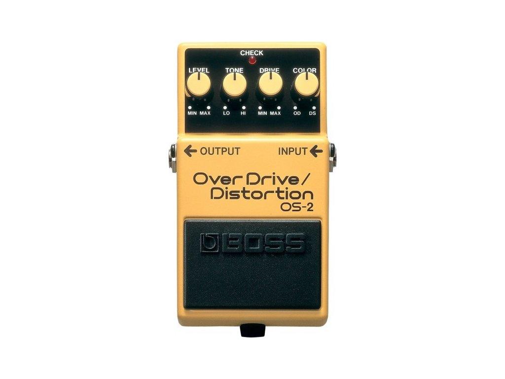 Kytarový efekt Boss OS-2 - Over Drive/Distortion