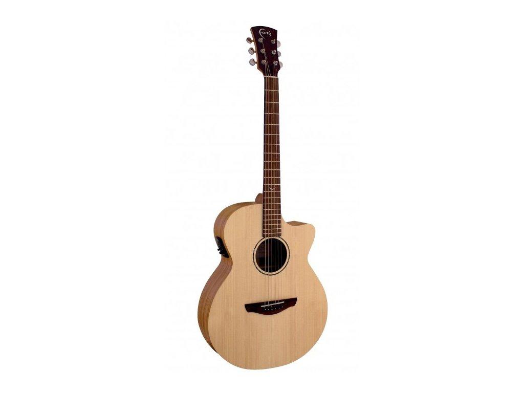 Elektro akustická kytara Faith Naked Venus FKV