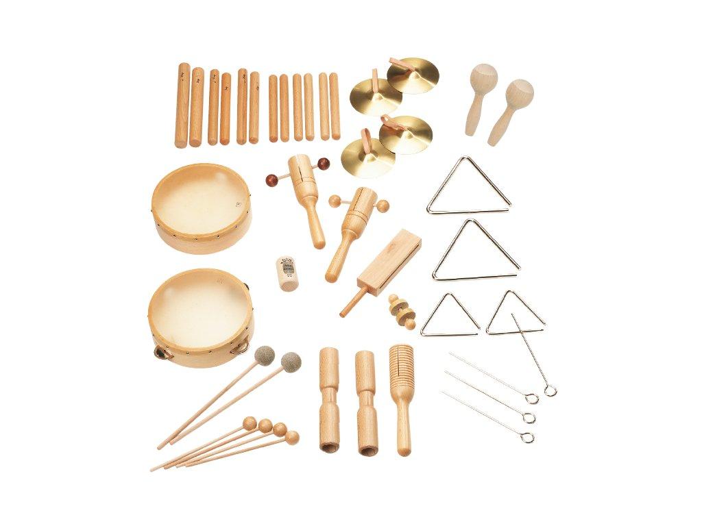 Orffovy nástroje Rohema, Rhythm set 1
