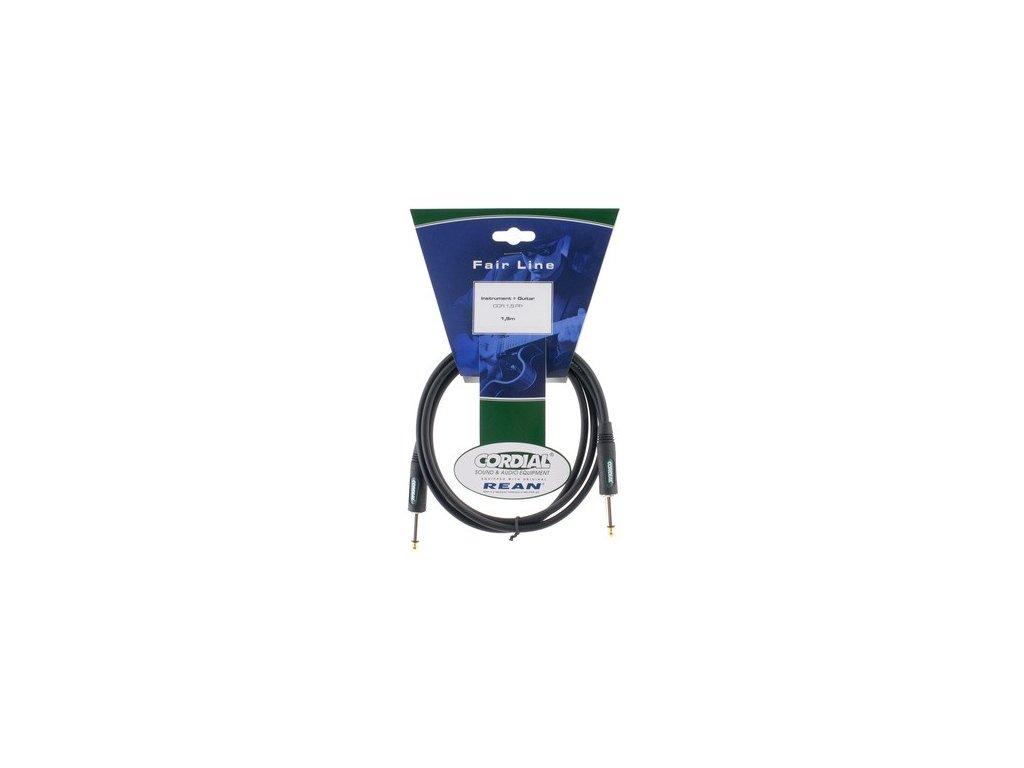 Nástrojový kabel jack-jack Cordial CCI 0.3 PP