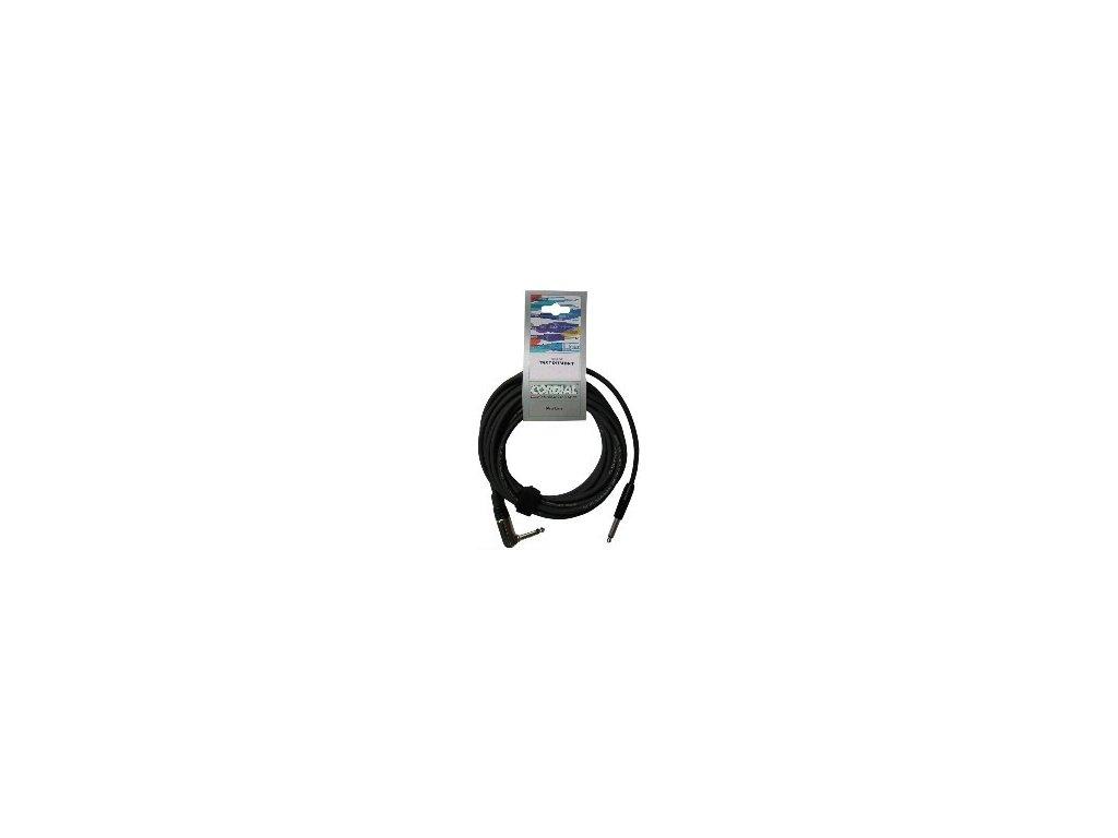 Nástrojový kabel jack-jack Cordial CCI 3 PR
