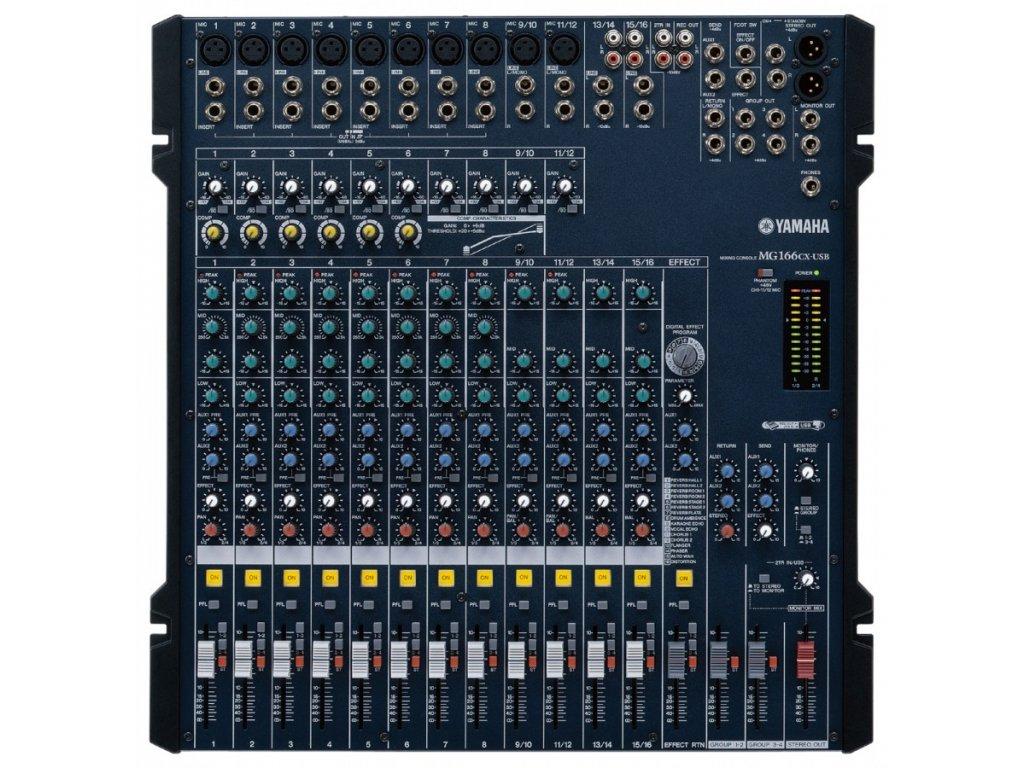 Yamaha MG 166CX USB - Mixážní pult