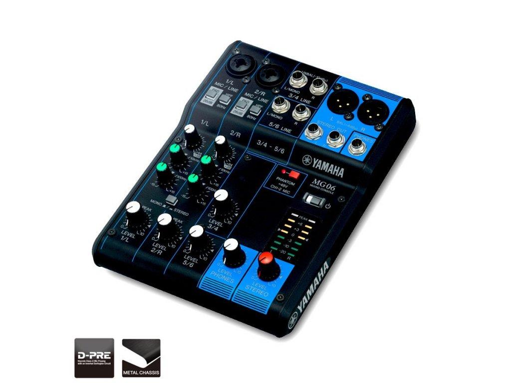 Mixážní pult Yamaha MG06