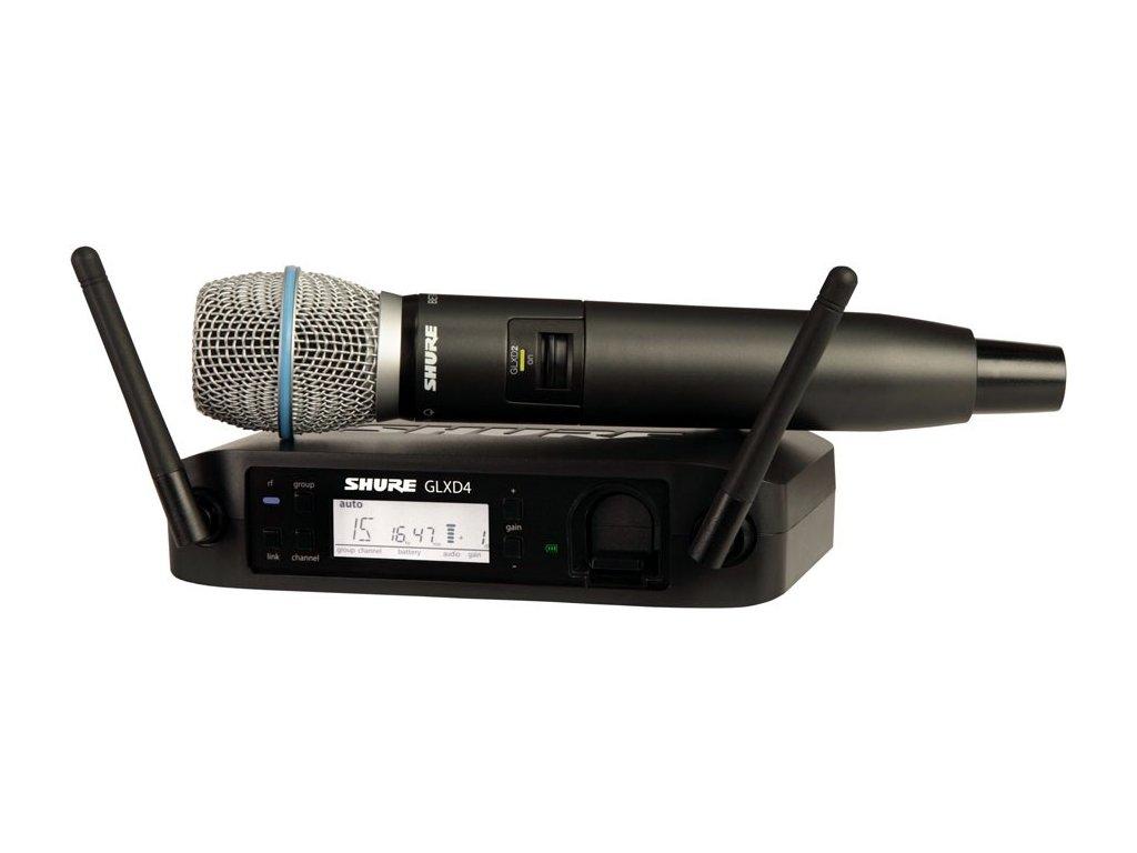SHURE GLXD24E/B87A - Bezdrátový system
