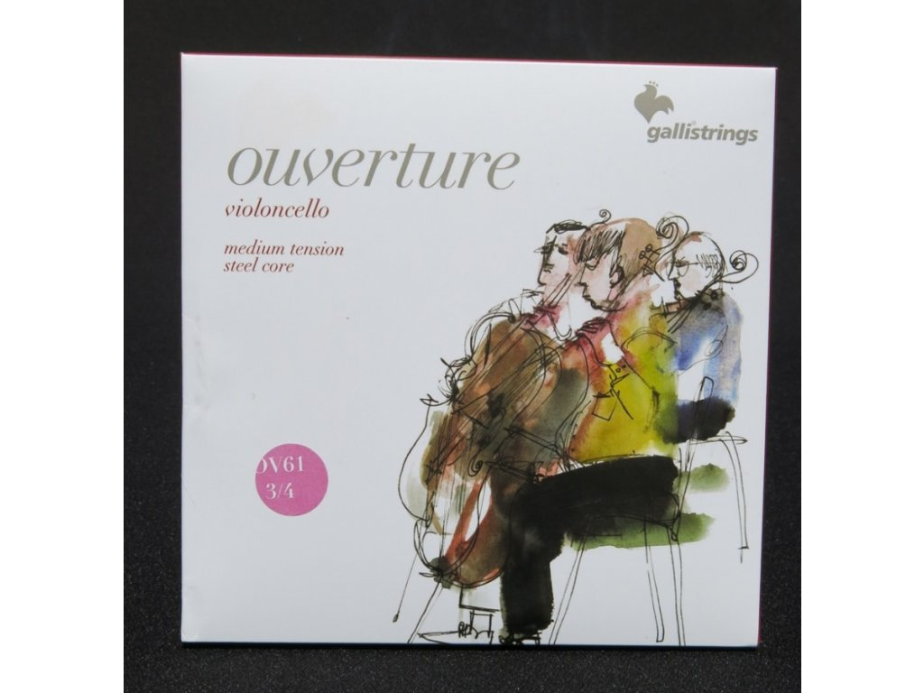 Struny na violoncello Galli Ouverture 61 3/4