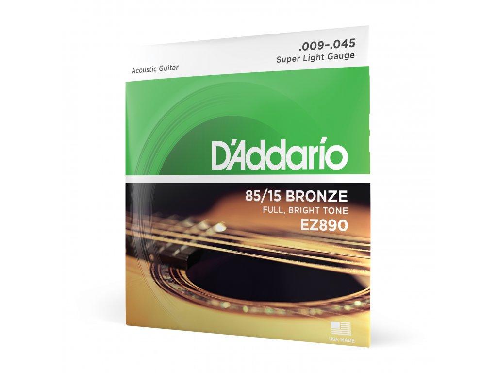 Sada strun pro akustickou kytaru D'addario EZ 890