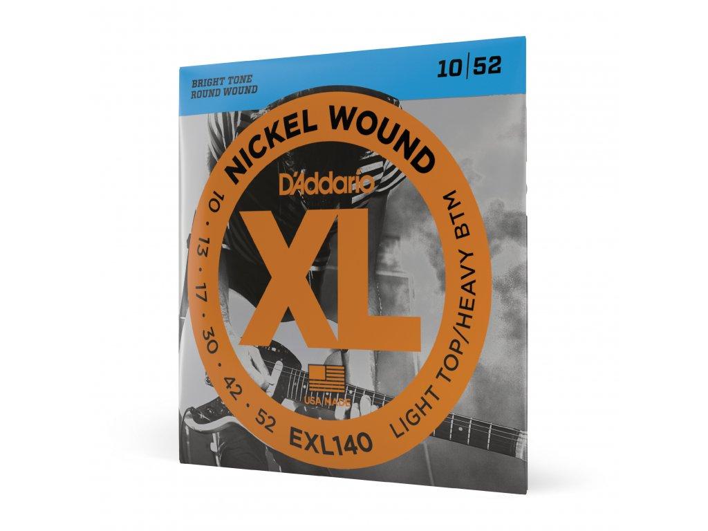 Struny na elektrickou kytaru D´ADDARIO EXL140