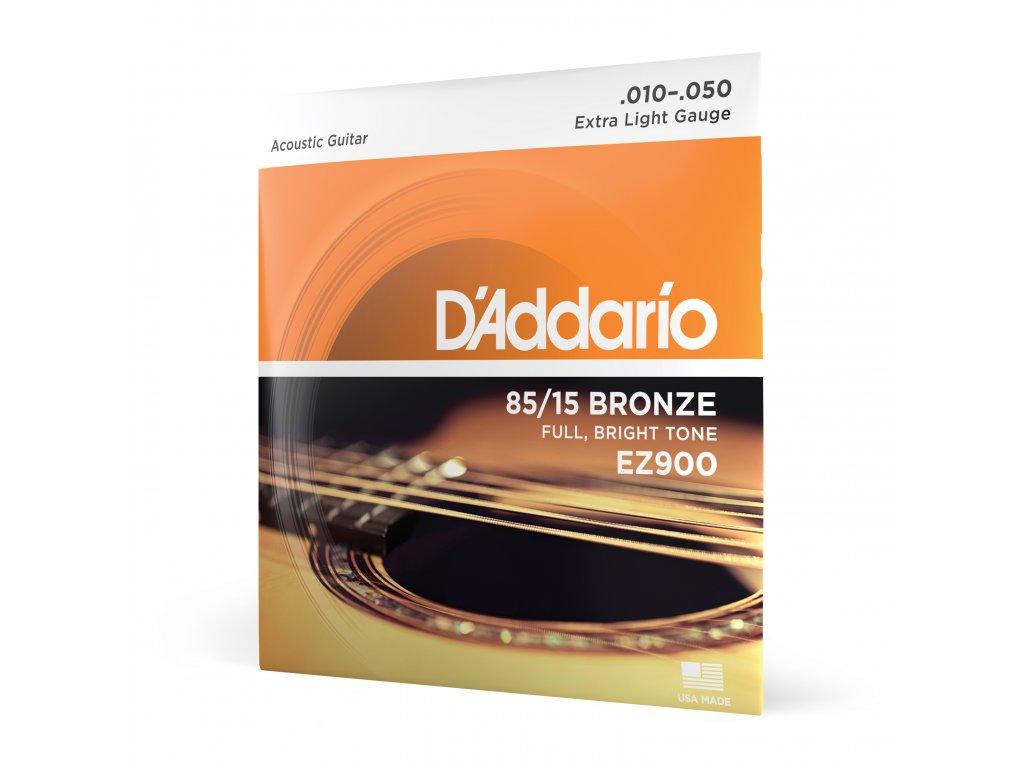 Struny na akustickou kytaru D´Addario EZ 900