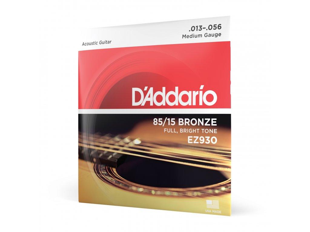 Struny na akustickou kytaru D´Addario EZ 930