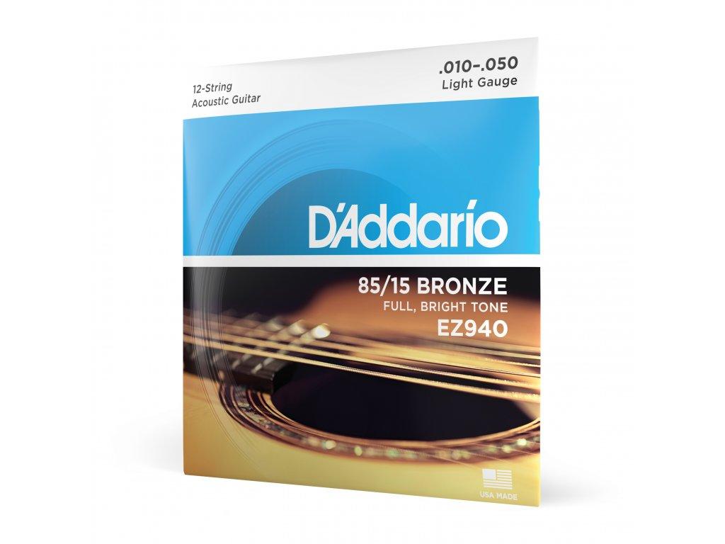 Struny na akustickou kytaru D´Addario EZ 940