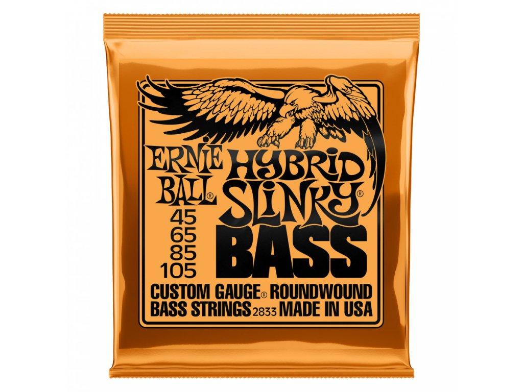 Struny na baskytaru Ernie Ball Hybrid Slinky Bass EB 2833