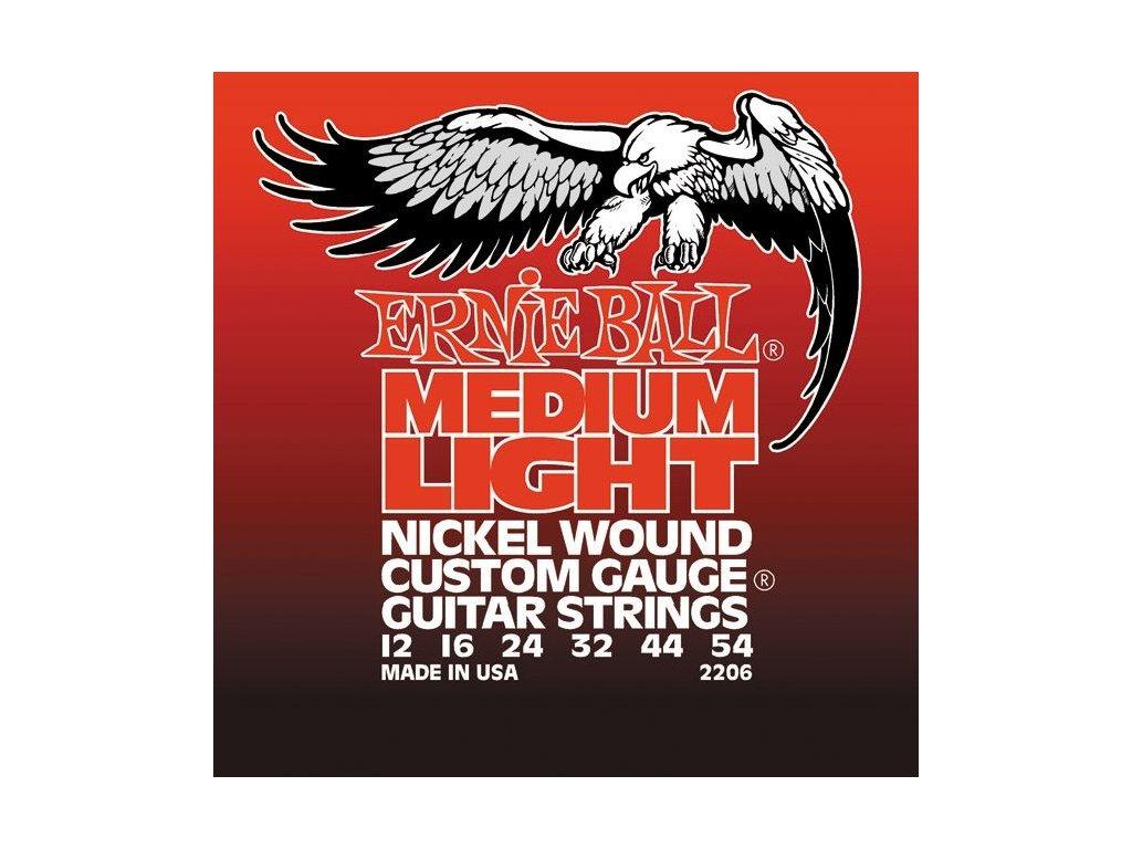 Struny na elektrickou kytaru Ernie Ball Medium Light EB 2206