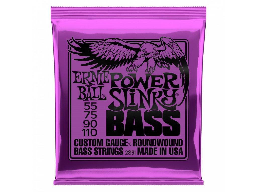 Struny na baskytaru Ernie Ball Power Slinky Bass EB 2831