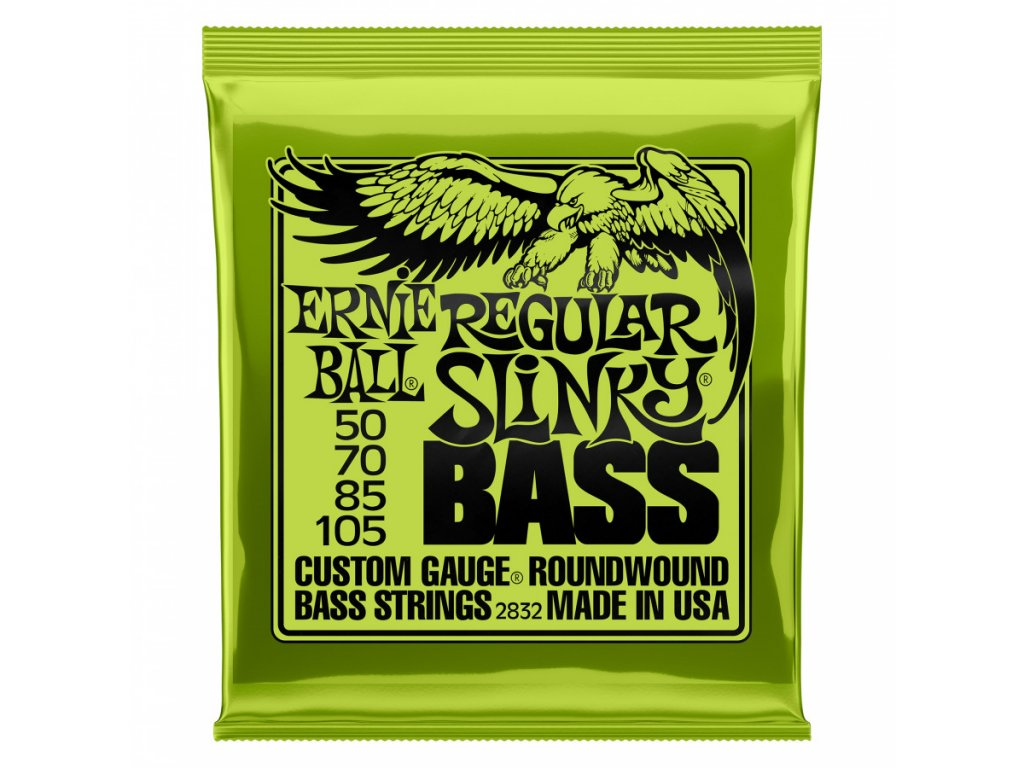 Struny na baskytaru Ernie Ball Regular Slinky Bass EB 2832