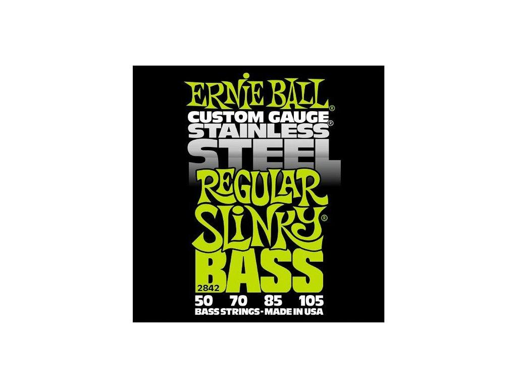 Struny na baskytaru Ernie Ball Regular Slinky Bass EB 2842