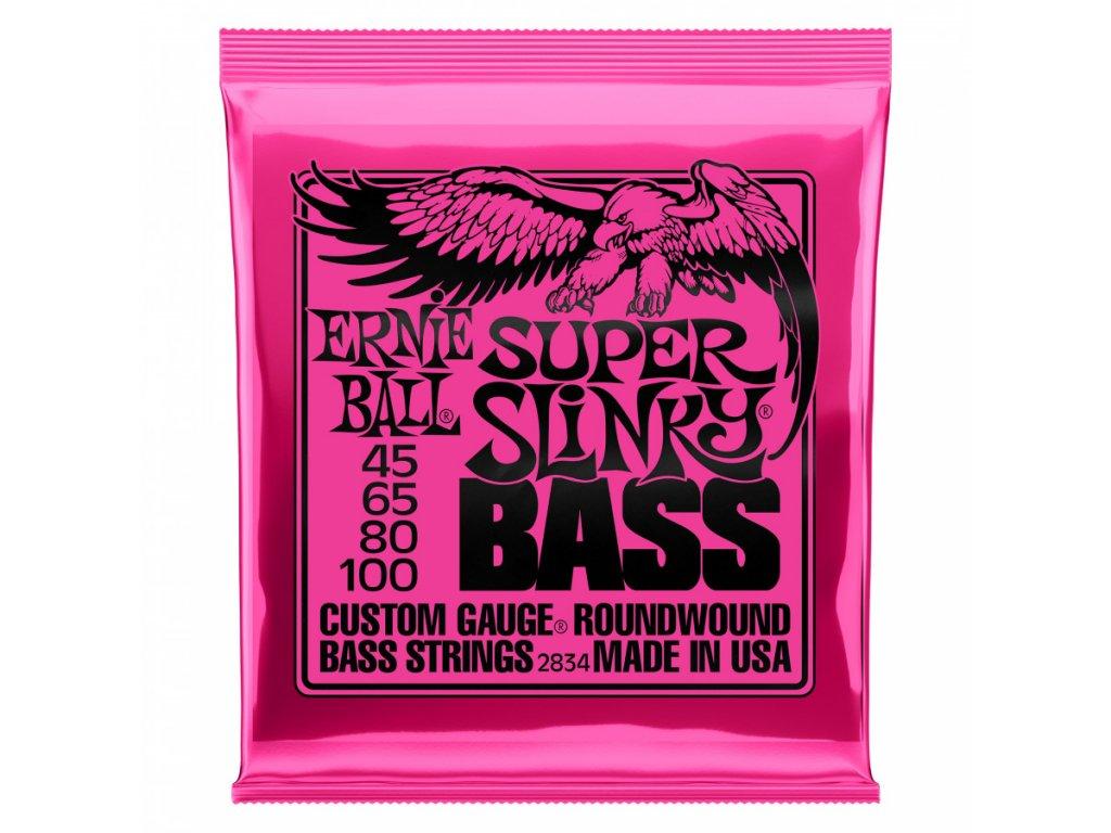 Struny na baskytaru Ernie Ball Super Slinky Bass EB 2834