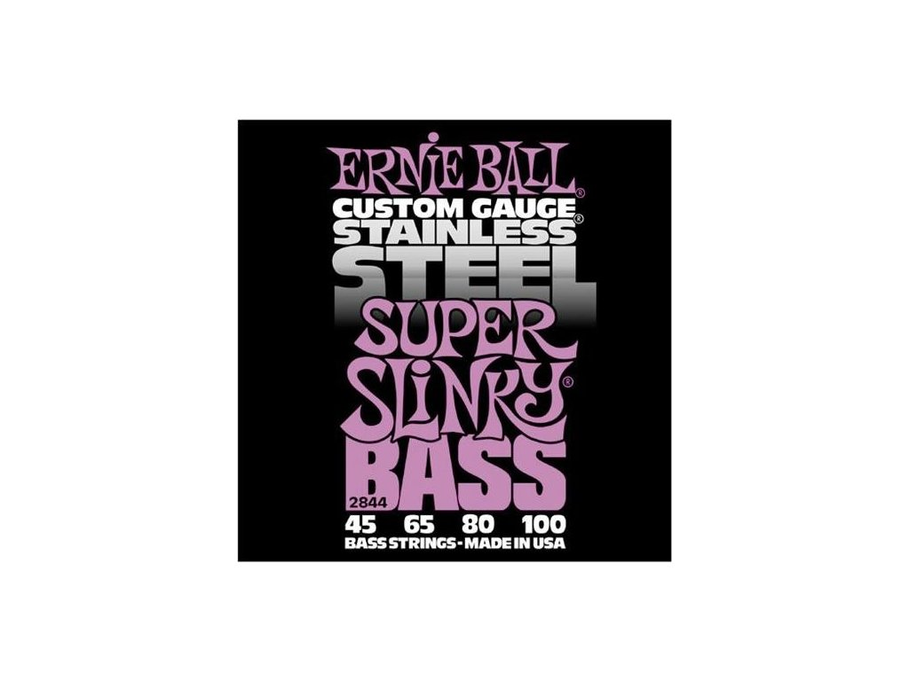 Struny na baskytaru Ernie Ball Super Slinky Bass EB 2844