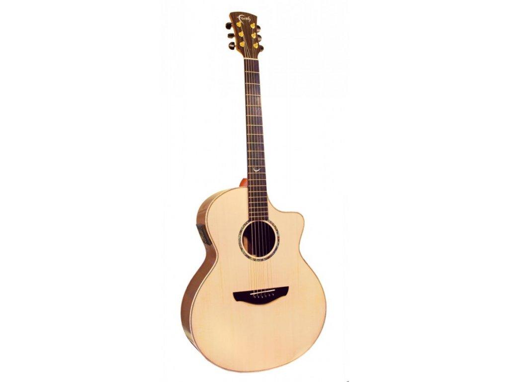 Elektro akustická kytara Faith Hi-Gloss FNCEHG