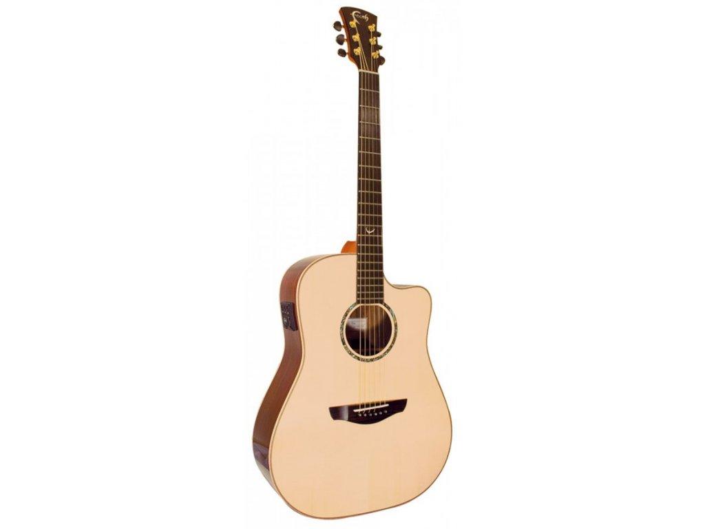 Elektro akustická kytara Faith Hi-Gloss FSCEHG