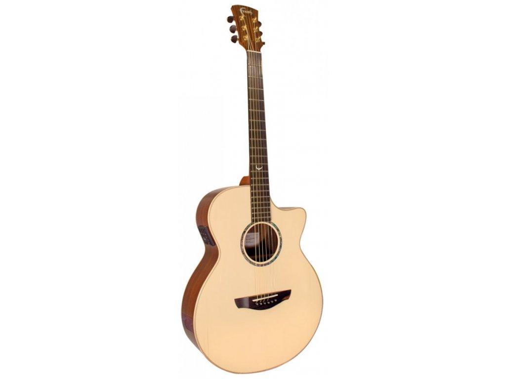 Elektro akustická kytara Faith Hi-Gloss FVHG