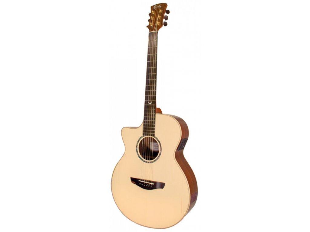 Levoruká elektro akustická kytara Faith Hi-Gloss Venus FVHGL