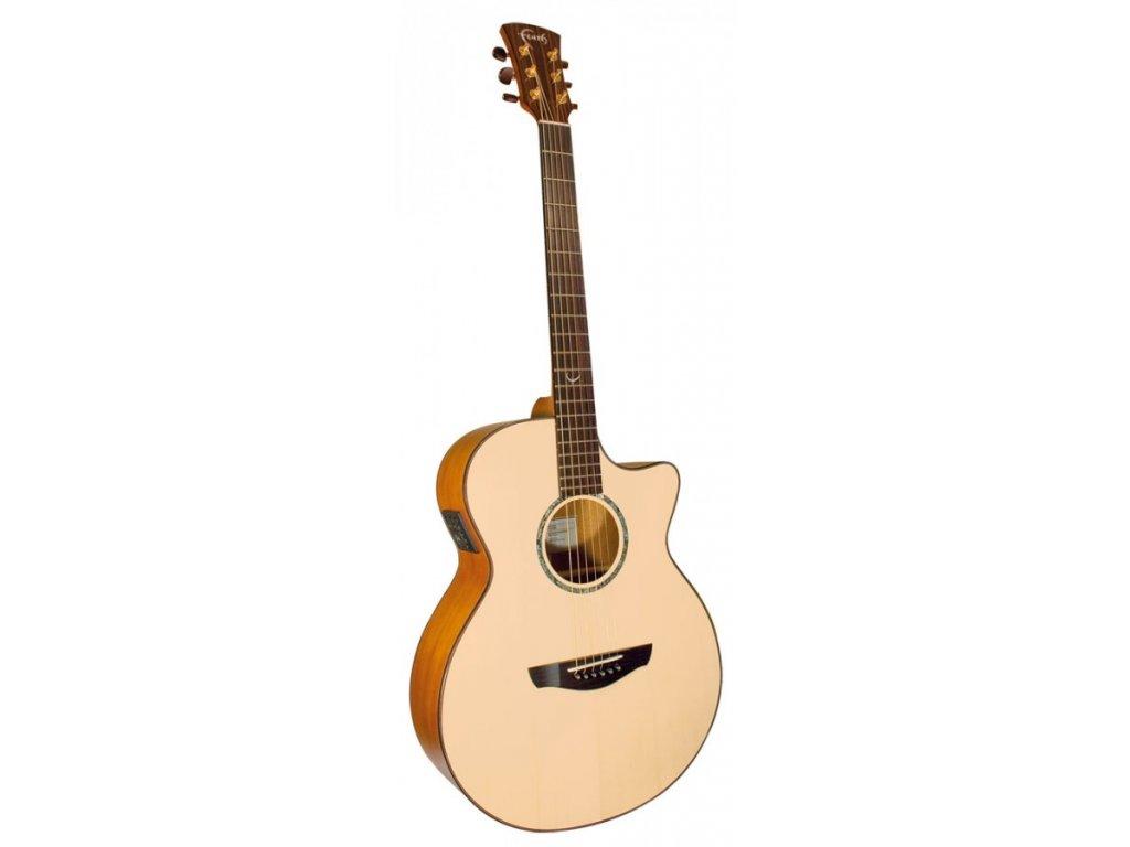 Elektro akustická kytara Faith Natural FV